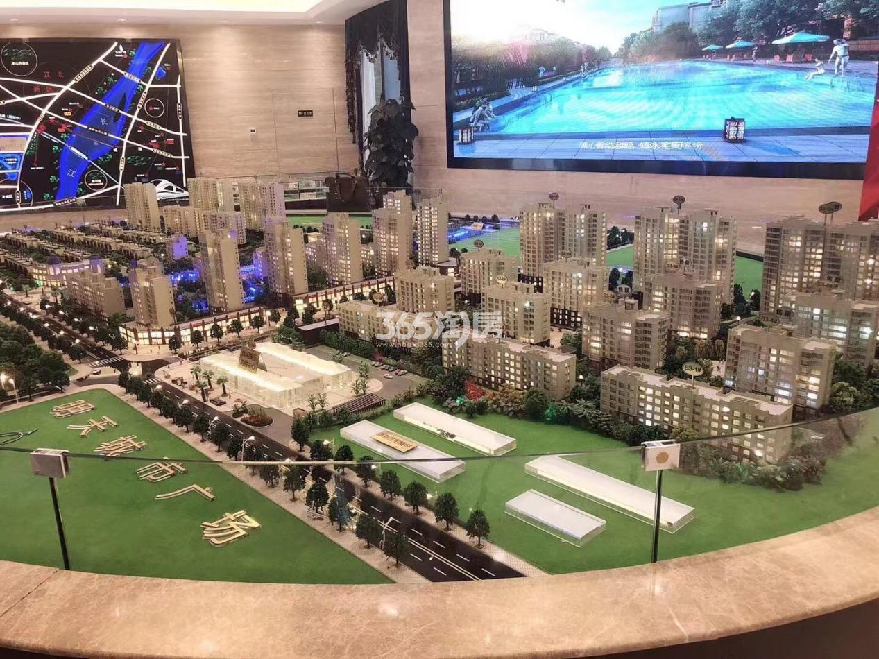 明天城市广场实景图