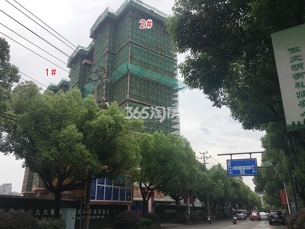 苕溪壹号5.6工程进展(1、2#)