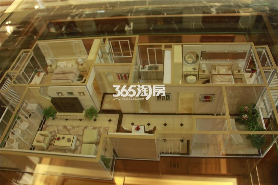 A户型两室两厅一卫96平米
