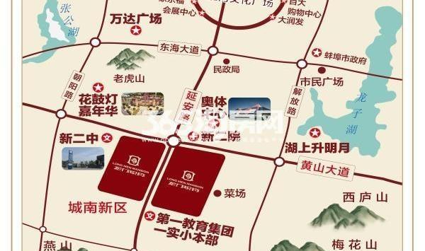 平原县龙门栾庄村地图