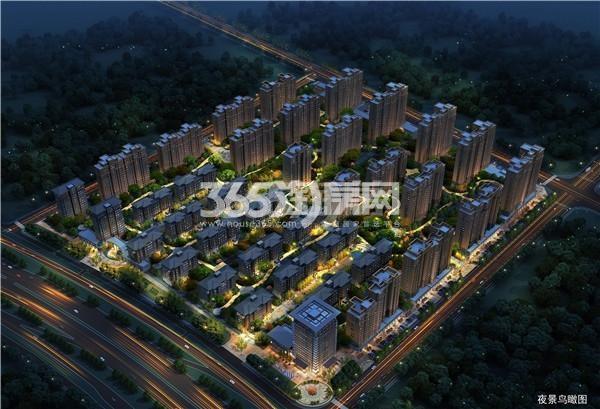 中国铁建·燕山国际城鸟瞰图
