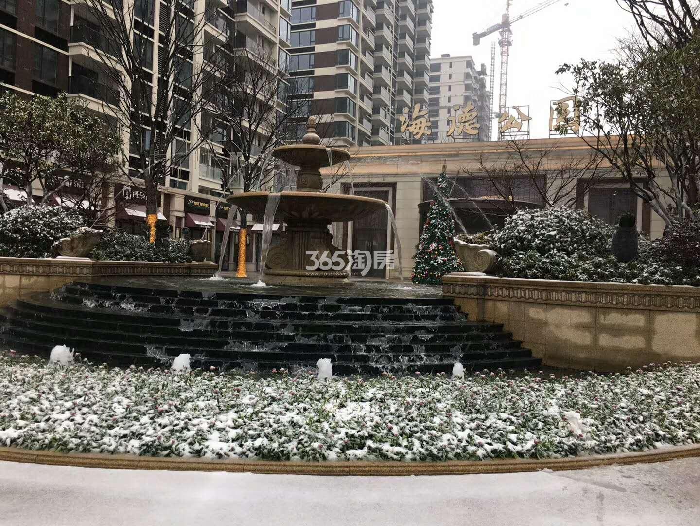 2018年1月德信海德公园售楼处实景