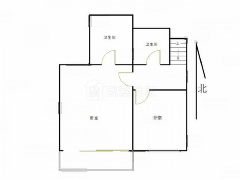 栖霞区仙林栖园4室2厅户型图
