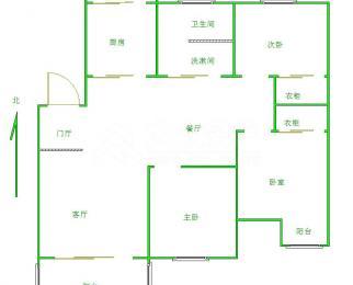 地铁口新江南花园3室精装南长街学区直升侨谊中学近家乐福