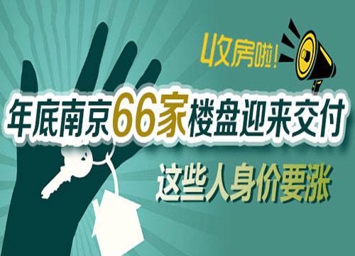 年底南京66家楼盘迎来交付 这些人身价要涨了!
