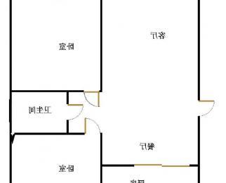 急售 世纪花城4楼 92平75万 精装修
