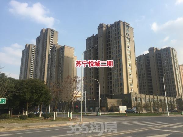 苏宁悦城二期实景图(2017.1 摄)