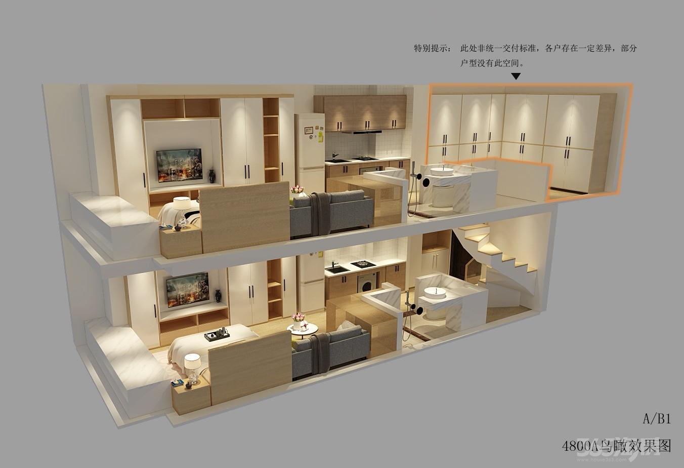 南站CBD核心万科公寓4.8米挑高双钥匙不限购不限贷