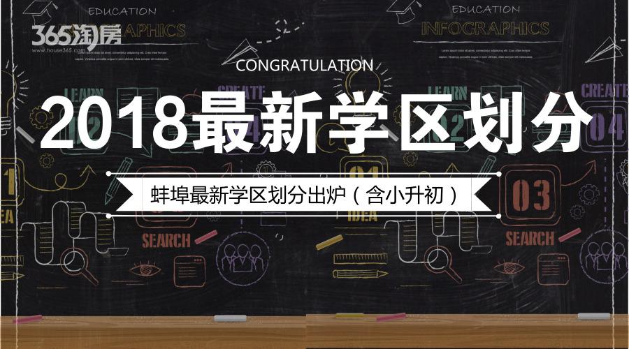 专题:蚌埠市学区规划