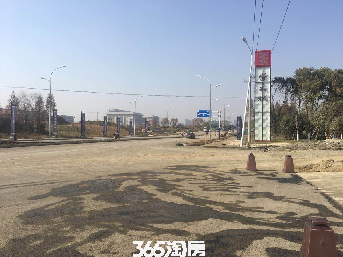 紫云赋售楼部附近路况实景图(2018.3.28)