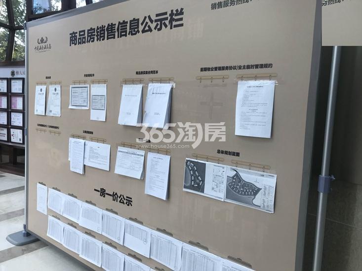 恒大滨江项目销售信息公示栏(3.17)