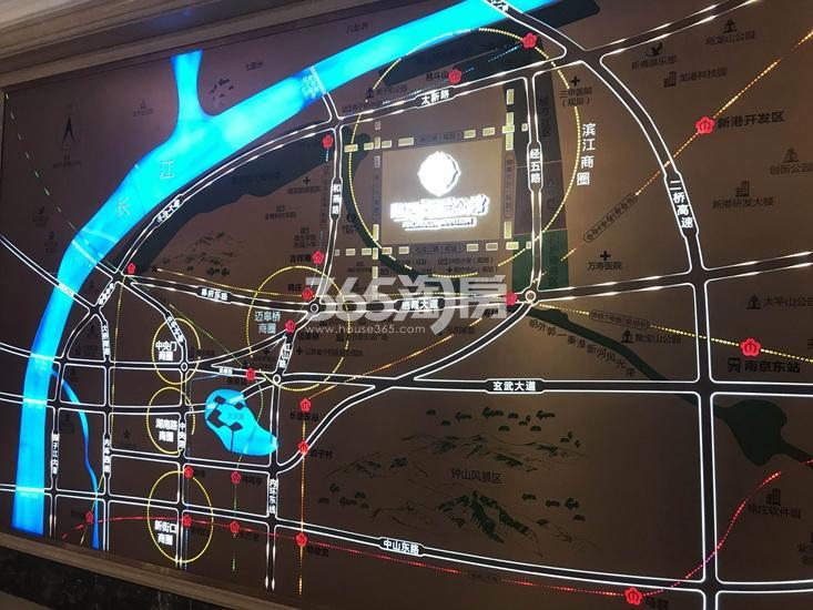 融创玉兰公馆项目区位图(3.1)