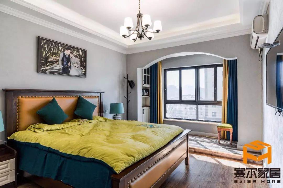 城市之光 美式卧室 卧室设计