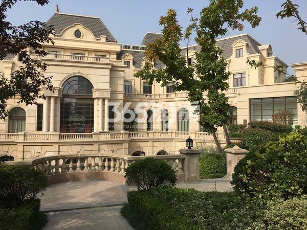 世园大公馆售楼部整体实景图(2017.11.6)
