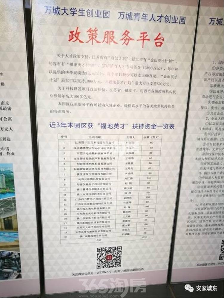 春天里附近的双创园宣传大牌实景图(1.26)