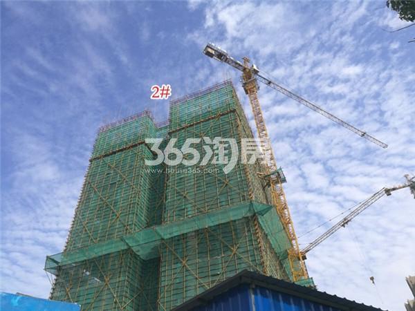 弘阳时代中心2#施工进展(1.29)