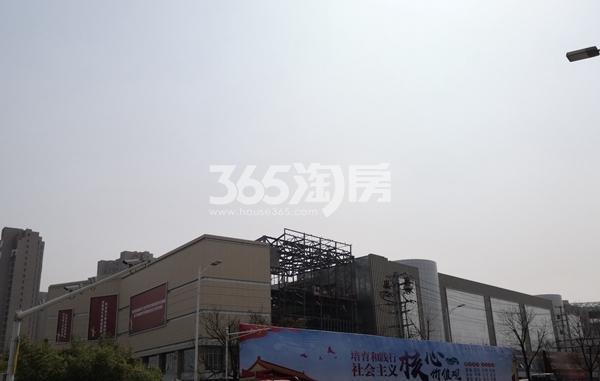 荣盛花语城配套商业-荣盛未来广场实景(3.28)