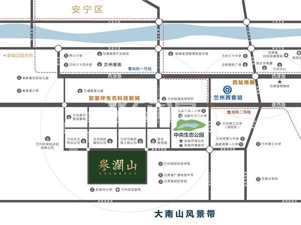 华润置地·誉澜山交通图