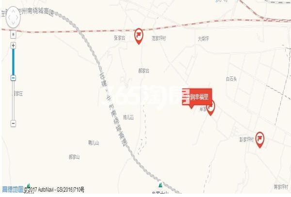 华润七里河项目交通图
