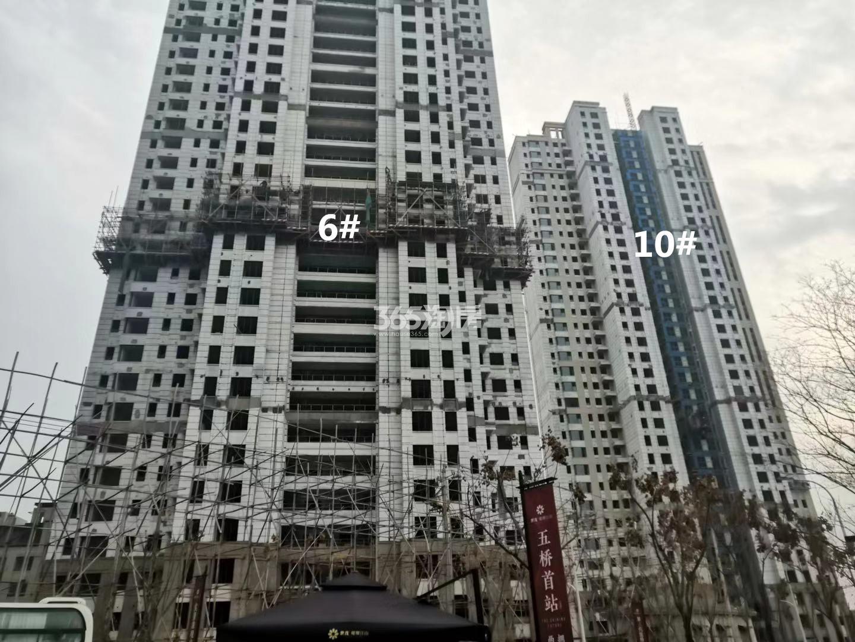 江山大境B地块6、10号楼实景图(12.30)