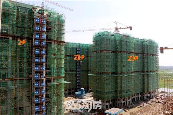 新华联梦想城2#、20#、21#工程进度(2016年7月摄)