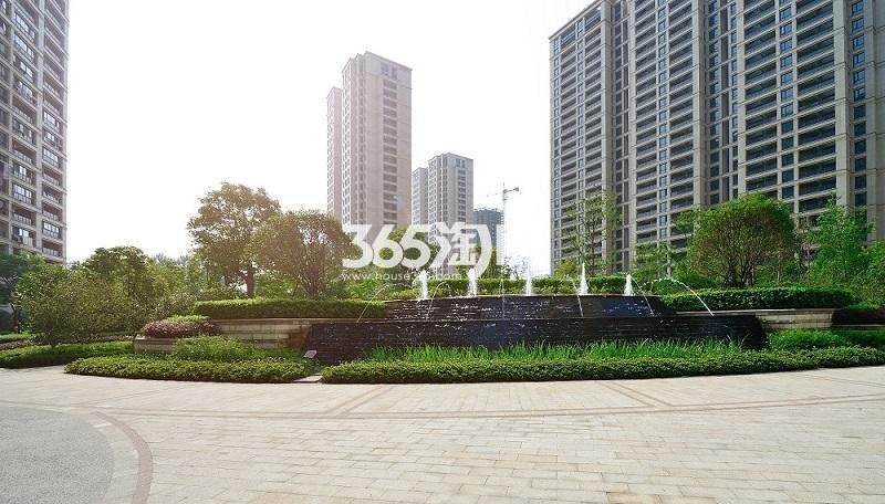 2017年7月中旬阳光郡实景---园区局部