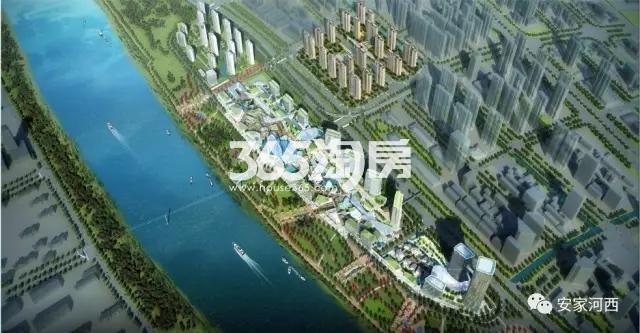 华侨城G61地块震撼效果图