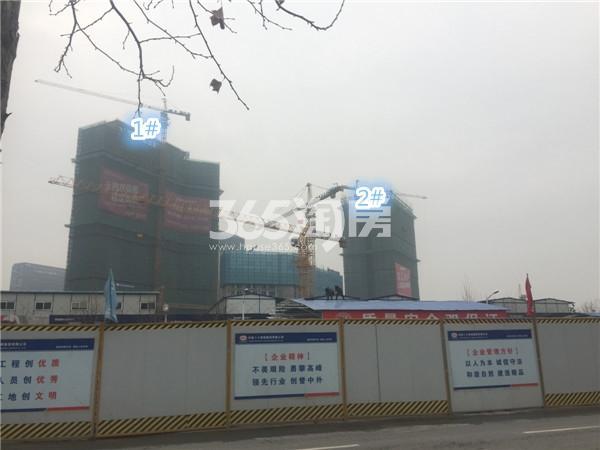 弘阳时代中心施工进展(3.29)