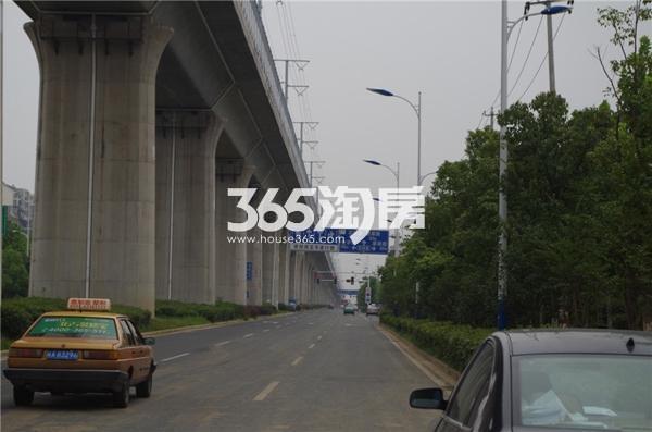 华邦观筑里周边道路实景(2017.9.4)