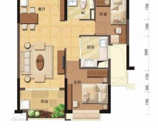 汊河地铁口 急售精装2房2厅1卫78平 刚需特价房 有钥匙可看房