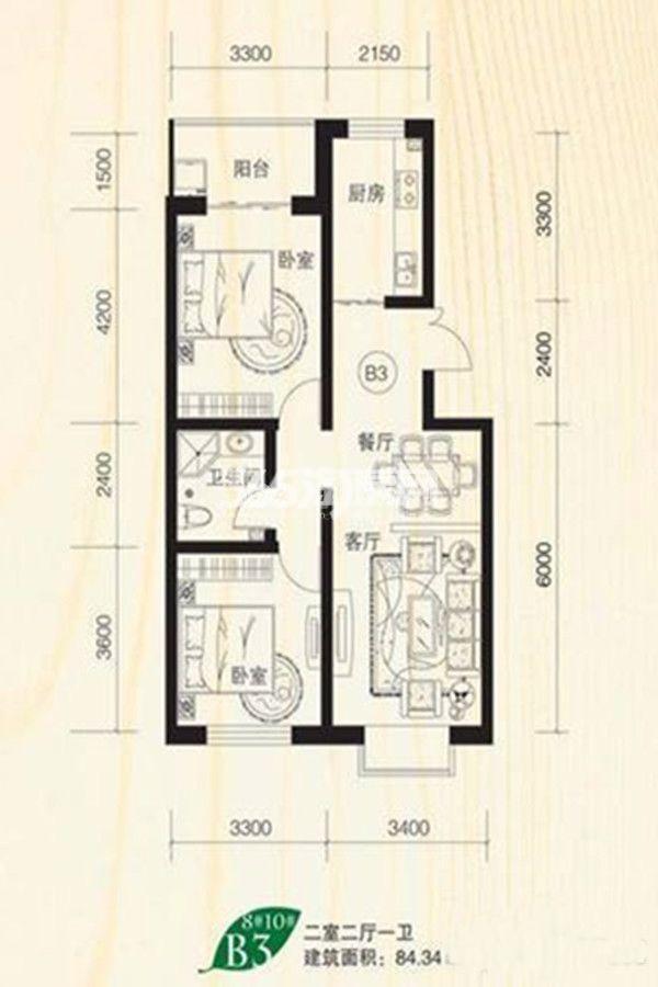 林语兰庭户型图