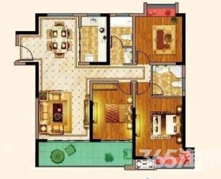 荣盛西湖观邸3室2厅2卫133平方产权房毛坯
