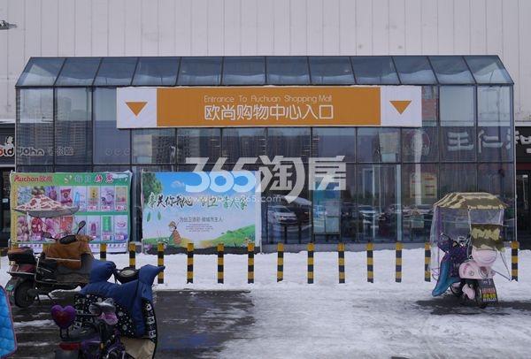 荣盛时代广场实景图