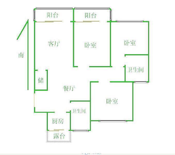 梁溪区锦绣花园3室2厅...