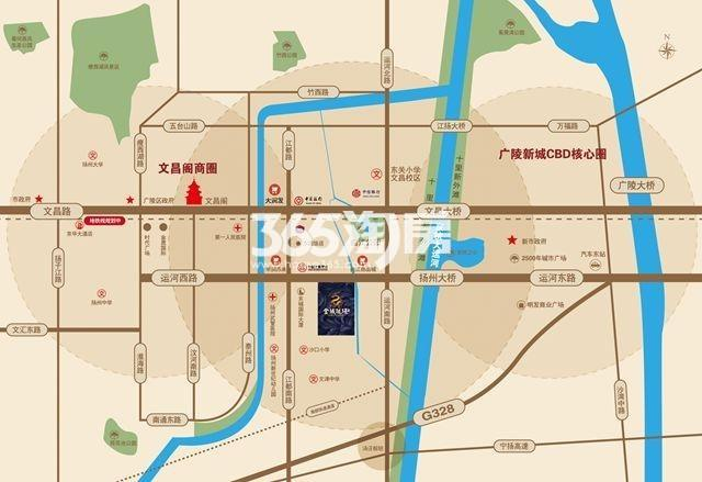 金域珑璟交通图