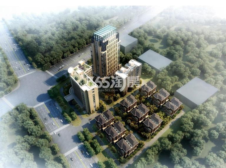 金江春创意科技园鸟瞰图