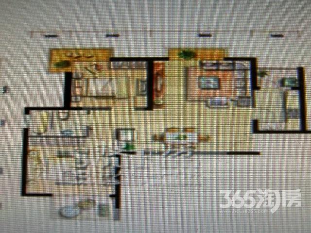 �哄卑氲�2室2厅1卫90平米免税毛坯房,三面采光通透带双气