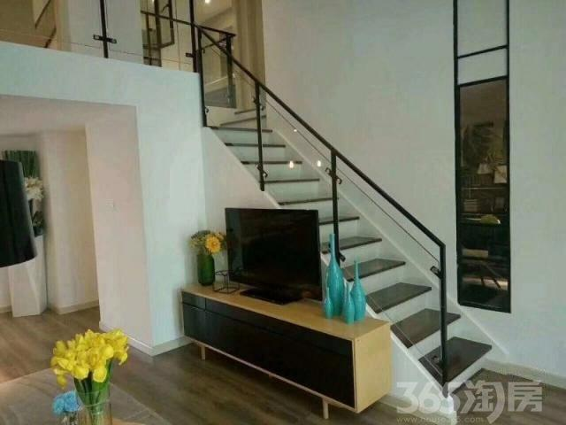 新区狮山滨河路 地铁口精装复式公寓 民用水电 双钥匙双租金