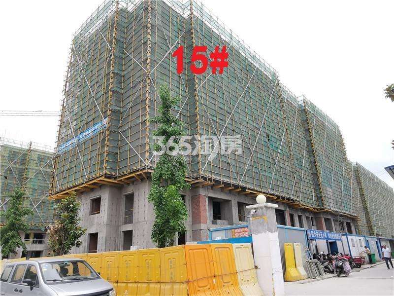 蓝城蘭园在建15#楼实景图(5.30)