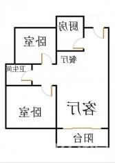 唐人中心 九中对面 大两居 可商贷 仅售