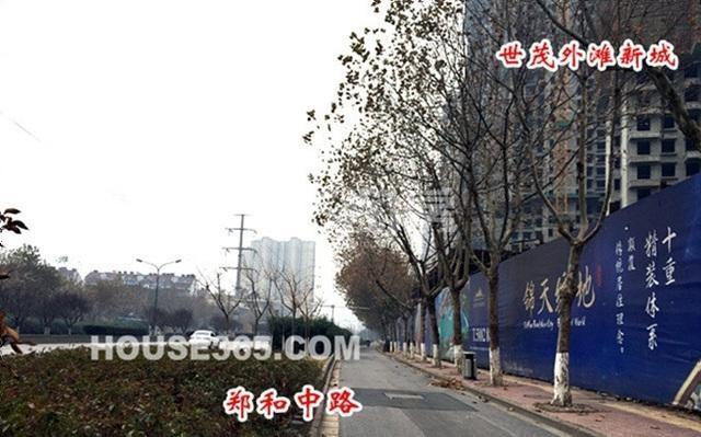 世茂外滩新城项目实景图(12.02)