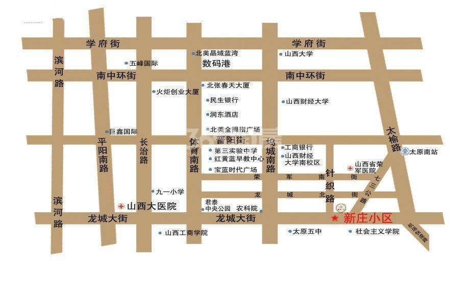 龙城2011交通图