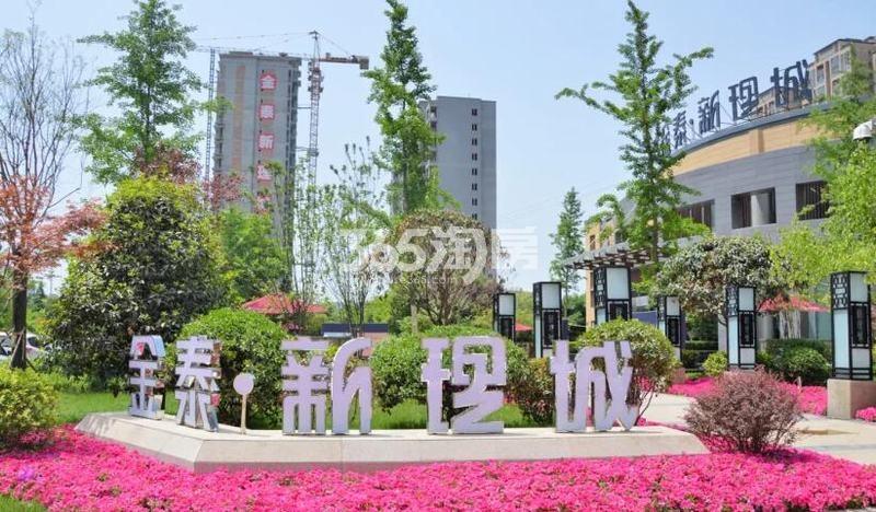 金泰新理城实景图