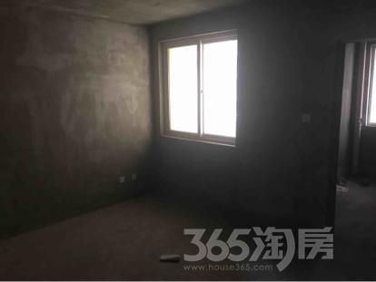 汇锦水岸城2室2厅1卫84平米毛坯产权房2016年建