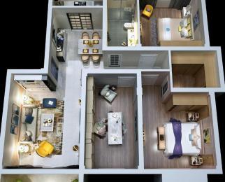 特价房丨万达公寓 拎包即住送精装修+软装 高租金包租包租包租