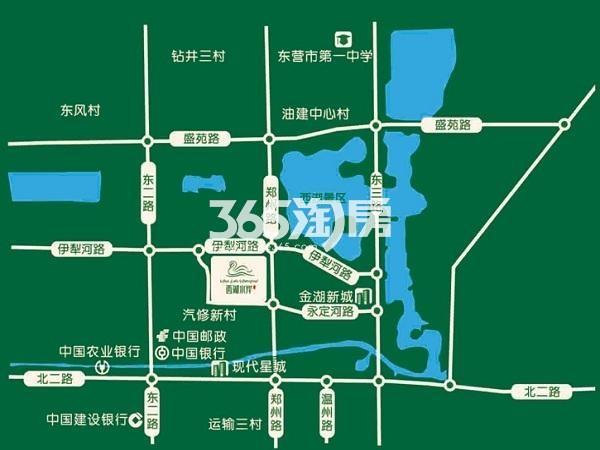 金辰·西湖水岸交通图