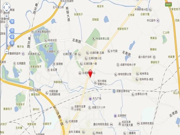 华宇旭辉锦绣花城交通图