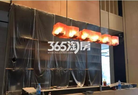 少荃府在建售楼部内实景(2017.9.7)