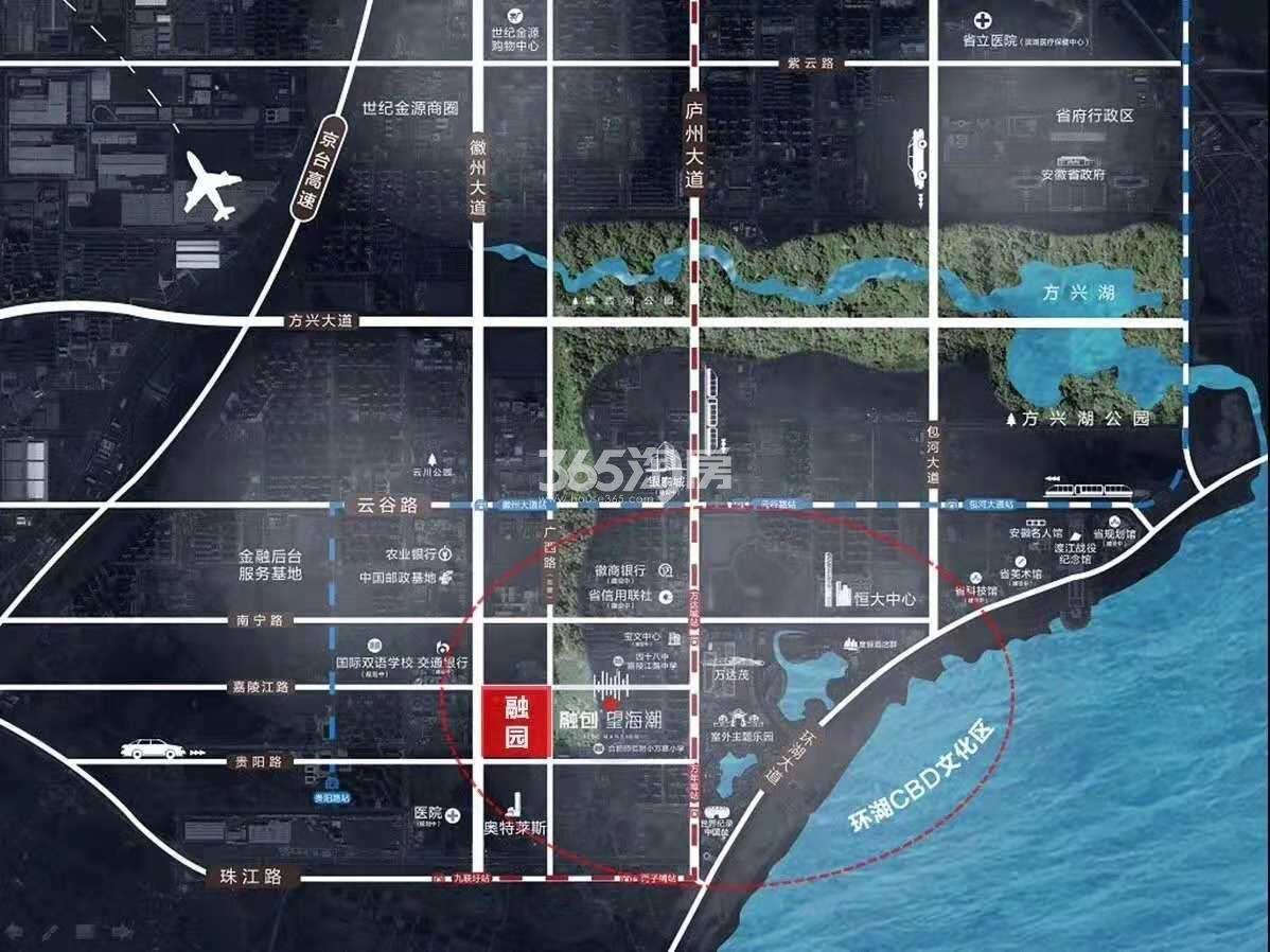 合肥万达城交通图
