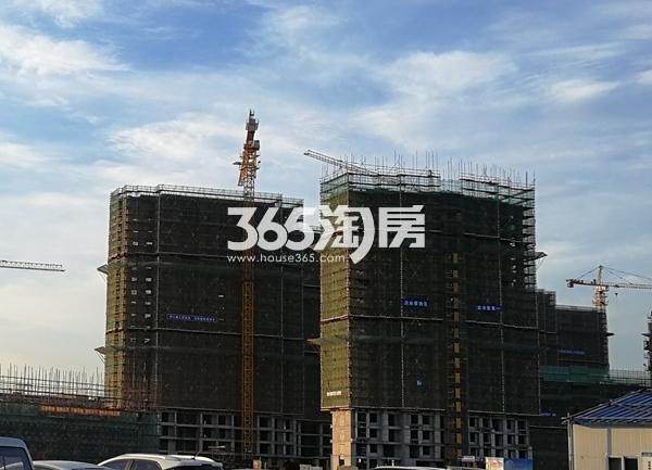 正大·万物城一期高层实景图(2017.7)
